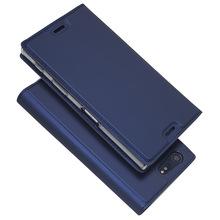 新款索尼XZ Premium手机壳超薄电压插卡翻盖皮套防摔支架保护套