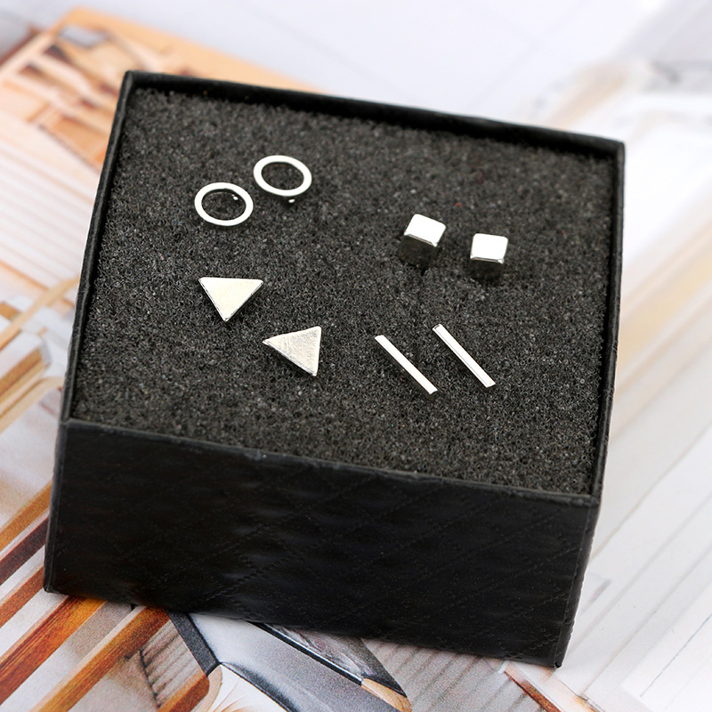 Simple alloy other earring (Black suit)NHGY0248-Black suit