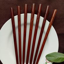 厂家直销中式木筷子麻轮光烙印创意防滑酒店家用筷子可定制