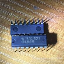 CD4504BE 直插DIP-16 电压电平转换器 微逻辑 全新原装进口芯片