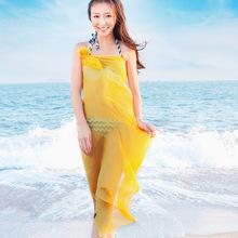 西子?#35802;憒可?#38450;晒丝巾围巾韩国女百搭雪纺丝巾长款披肩夏季沙滩巾