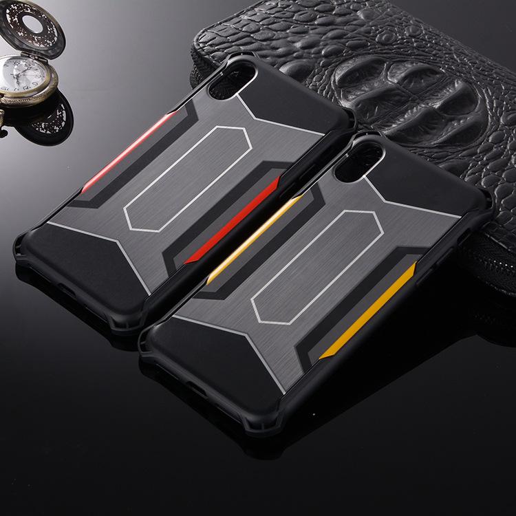 跨境专供iphoneX手机壳 苹果8保护套 iphone7金钢防摔拉丝软壳