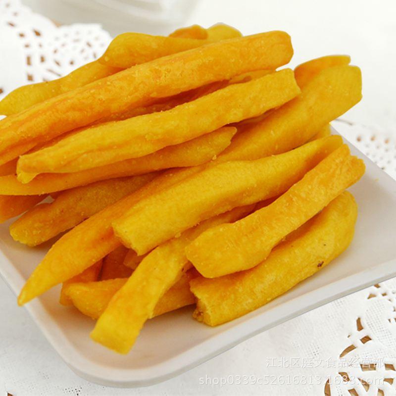 新货香脆红薯条红薯干红脆条连城地瓜干散装 特价批发