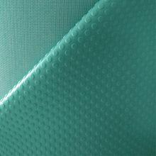 厂家直销 防静电皮革 绿色止滑防静电鞋面料 防静电PVC人造革