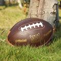 创意橄榄球3D立体单肩包小胸包男士随身运动斜挎包美式足球造型包