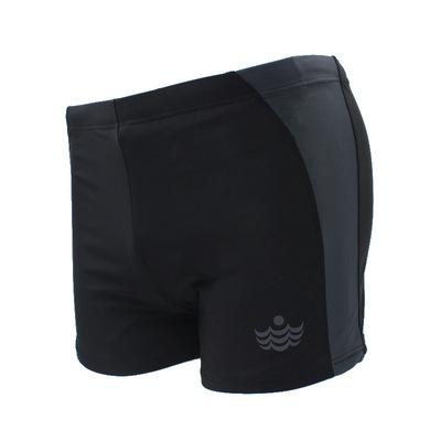 浪姿男士平角泳裤时尚速干舒适透气泳衣加肥加大码宽松泡温LZ003