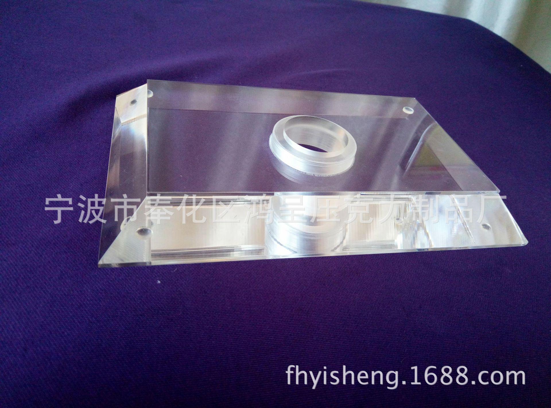 压克力灯具展示架 亚克力厚方块展架 宁波鸿呈 可定制款式和尺寸