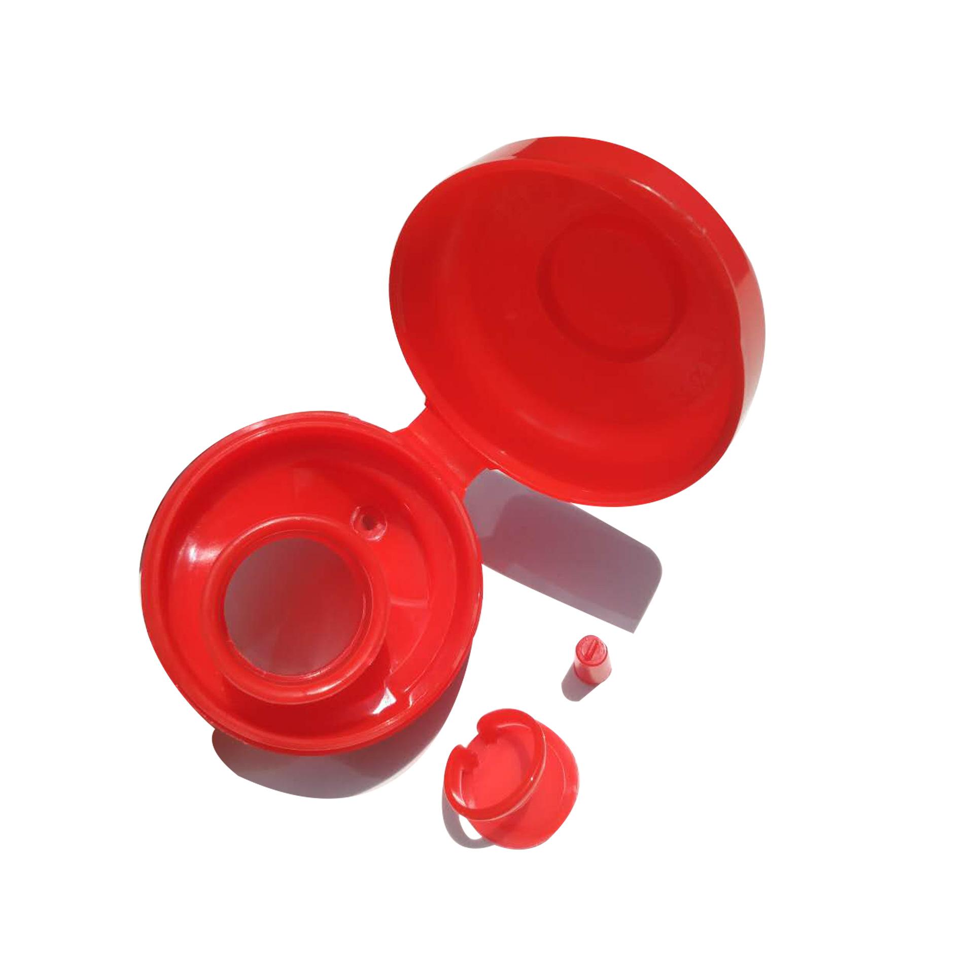 供應5升39口徑紅色食用油塑料瓶蓋 花生油山茶油瓶蓋快遞分揀包裝  新功能瓶蓋