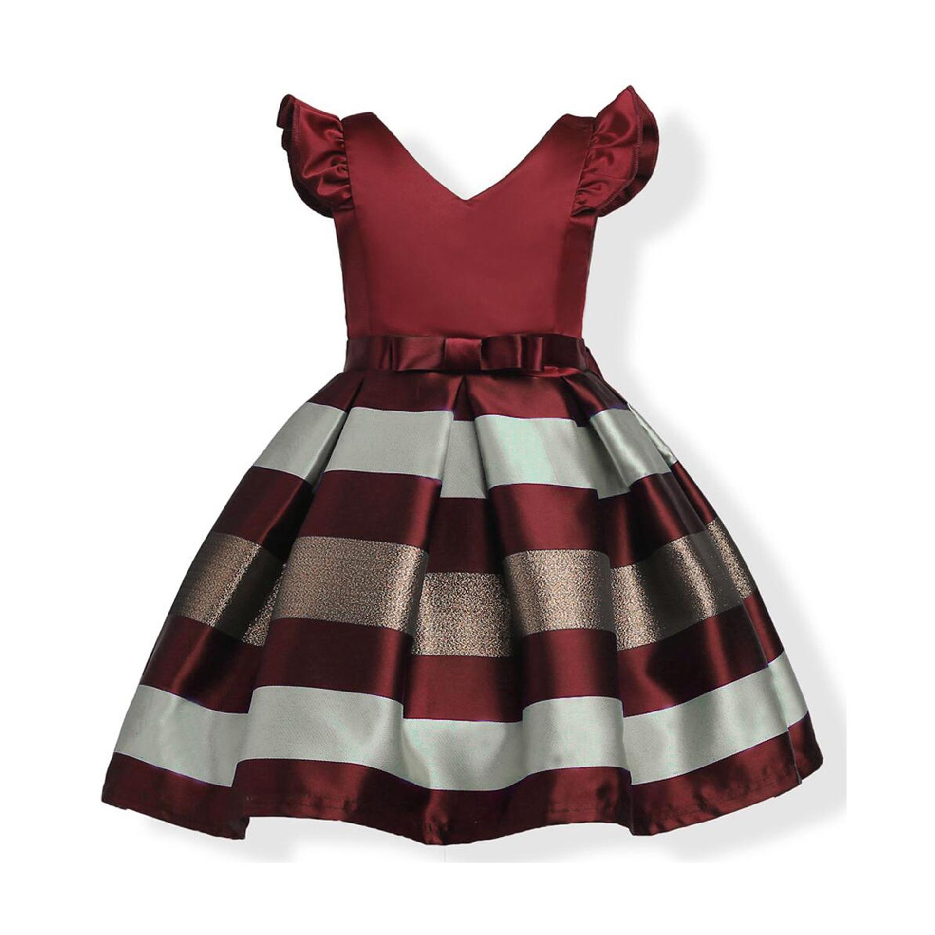 跨境亚马逊童装欧美女童连衣裙外贸儿童定制礼服裙公主裙一件代发