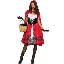 外貿歐美萬圣節小紅帽舞臺表演服裝 cosplay 性感吸血鬼游戲制服