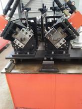 生产双工作轻钢龙骨设备滚辊成型机  专业生产高速冷弯成型机