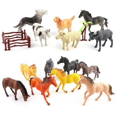[Single Premium Sản Phẩm] Túi Động Vật Thế Giới Động Vật Mô Hình Búp Bê Búp Bê Loạt Các động vật styling phù hợp với