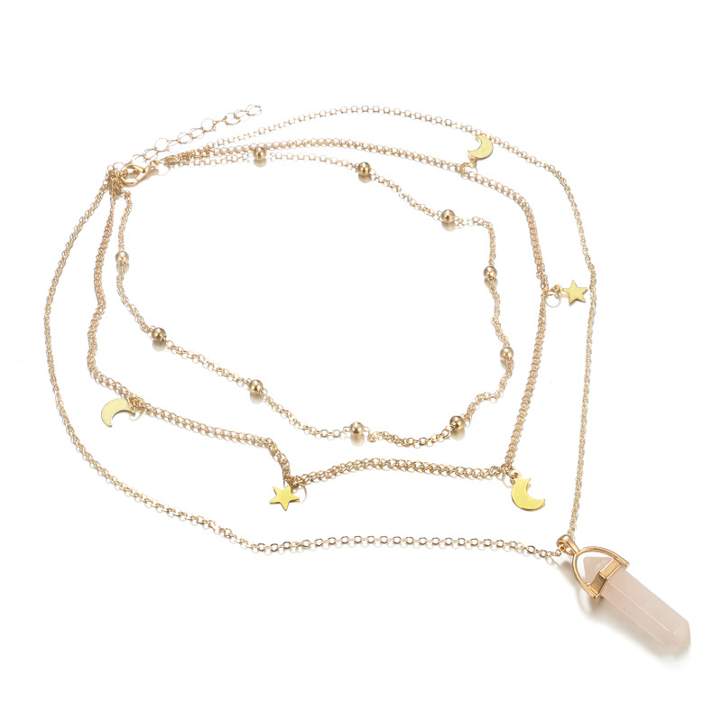 Fashion Alloy plating necklace  (alloy)  NHGY0946-alloy