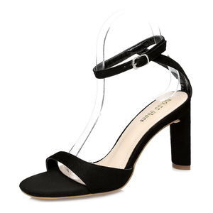 Thick heel Ankle strap sandal
