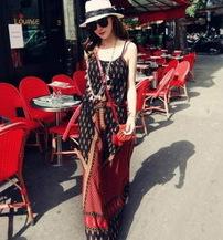 沙滩裙 镂空衫 披莎
