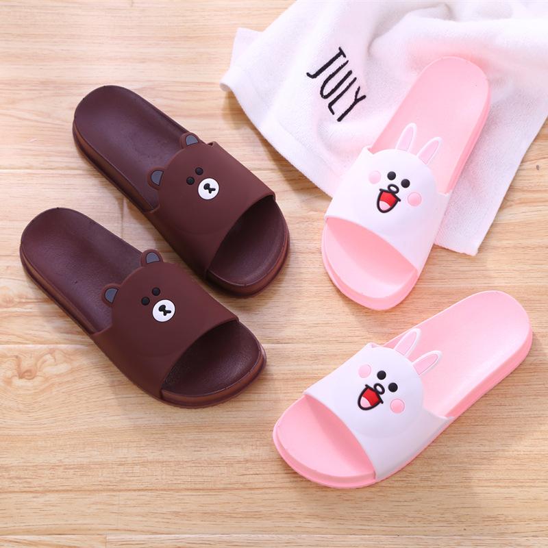 休闲时尚卡通儿童拖鞋塑胶防滑柔软加厚男女中童夏季儿童凉拖鞋