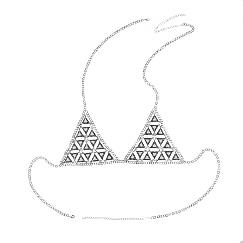 Alloy Fashion Geometric Body accessories  (D0370 ancient alloy) NHXR2192-D0370 ancient alloy