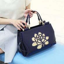時尚新款高檔漆皮手提女包 高檔進口真皮女包 正品手提單包包