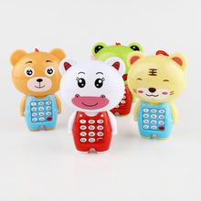 儿童早教智能机早教动物手机宝宝卡通语音手机批发热卖
