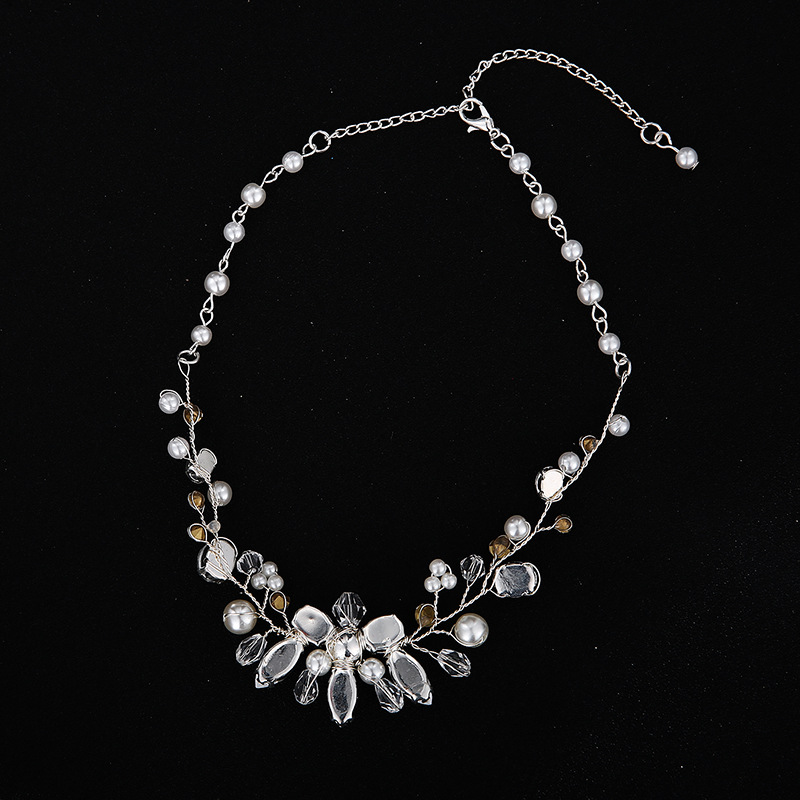 Alloy Fashion  necklace  (Alloy) NHHS0114-Alloy