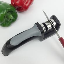 VELEKA 手柄磨刀器 双头陶瓷金刚石磨刀石磨刀棒 厨房用品 磨刀石