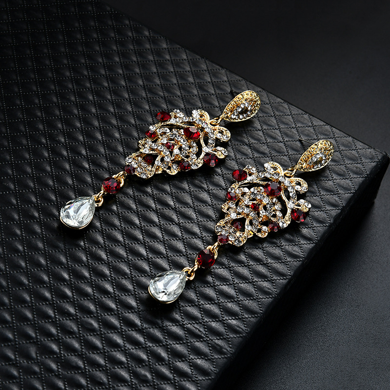 Occident and the United States alloy plating earring (61179384)NHLP0821-61179384