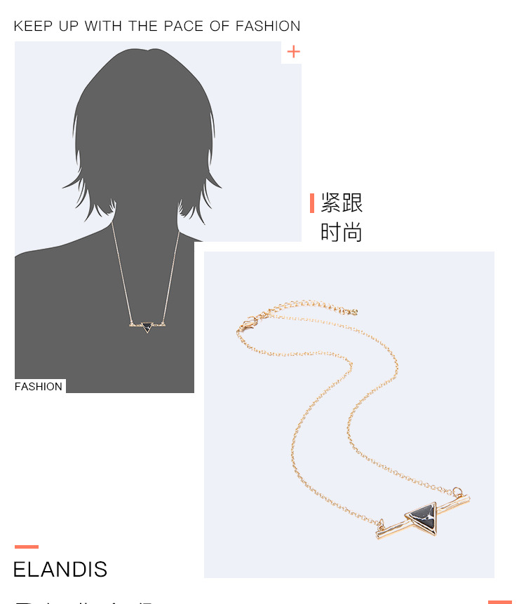 Alloy Simple Geometric necklace  (Alloy) NHTF0140-Alloy