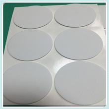 单面胶圆形白色泡棉脚垫50*1  EVA双面胶防滑垫 环保耐防滑磨家具