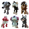 Jungle Animal hand puppet Mouth dynamic whole body Ventriloquist a doll story doll Plush Toys