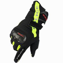 新款摩托车手套户外骑行个人防护防滑耐磨手套全指越野机车手套