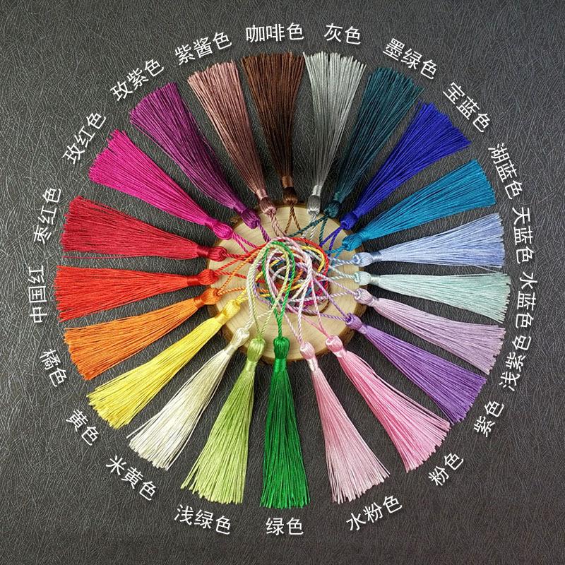 现货销售垂直95丝中国结流苏吊穗,来样定各种款式;服装辅料配