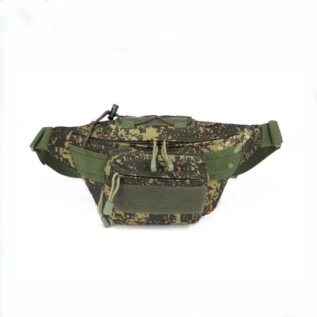 野营骑行户外腰包 单肩多功能腰包 战术迷彩腰包 迷彩腰包