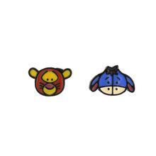 B182韓版跳跳虎耳環蝙蝠俠耳釘耳夾無耳洞耳飾義烏小商品批發