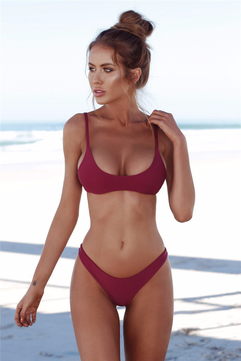 2019 Sexy Micro Bikini Swimwear Women Swimsuit 2018 New -1409