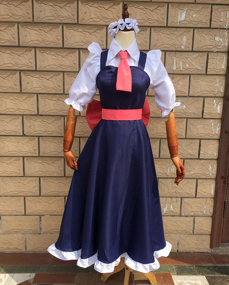 小林家的女仆龙cos服女仆装 托尔cosplay女服装康娜cos妹抖龙