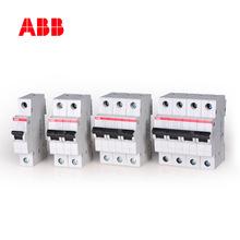ABB微型斷路器SH200系列25A家用2P雙極6KA空氣開關C特性SH202-C25
