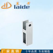 廠家精鑄304#不銹鋼玻璃方管連接件浴室拉桿連接頭LD-E038連接管