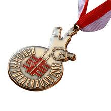 几何形奖牌定做 金属运动会奖牌 花框奖牌制作 马拉松奖牌定做