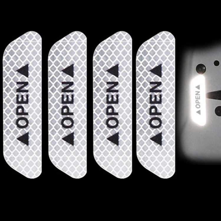 5209886732 689573554 - Reflective stickers 4pcs For Car door safety