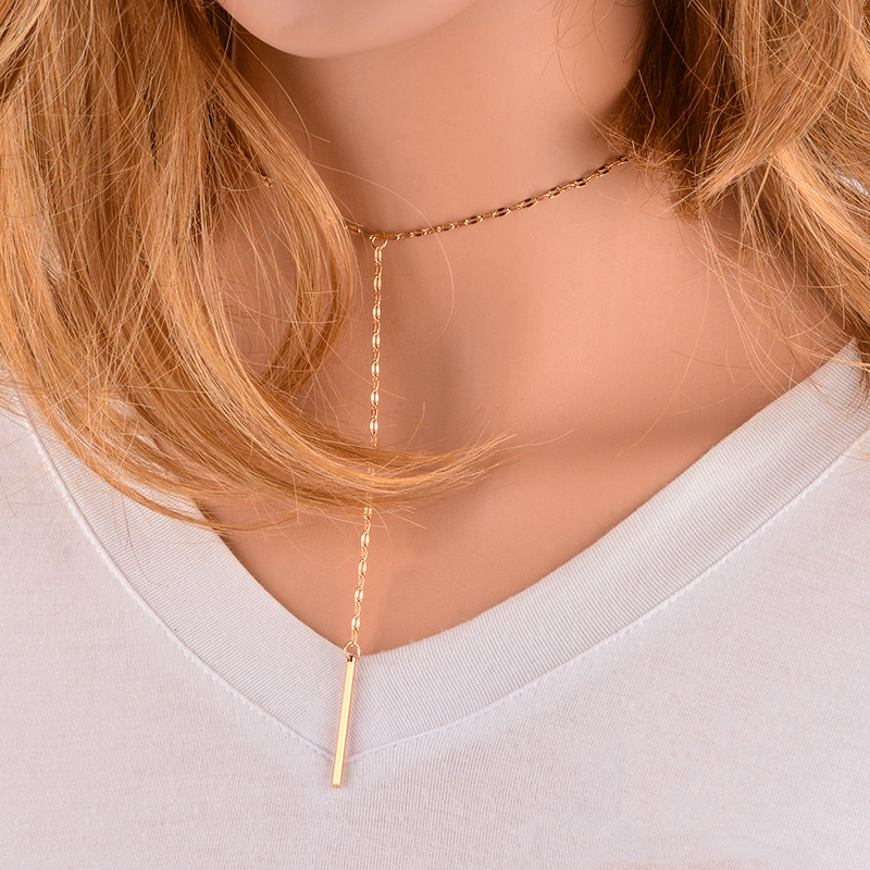 other alloynecklace (Gold)NHYT0527-Gold