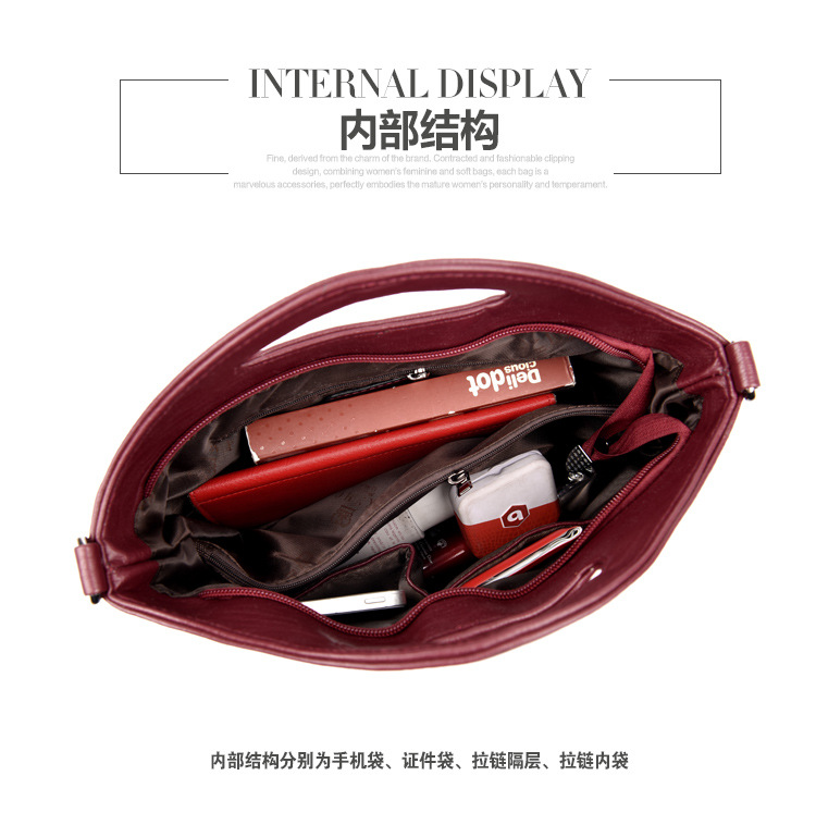 Korean version PUShoulder bag (Bronze)NHPB0331-Bronze
