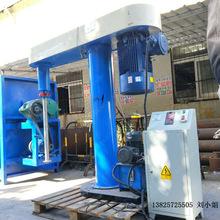 淄博生产直销 环氧树脂粉加油类混合搅拌机 不锈钢液压分散机