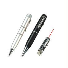激光笔U盘 U盘笔 笔形U盘 三节激光优盘笔