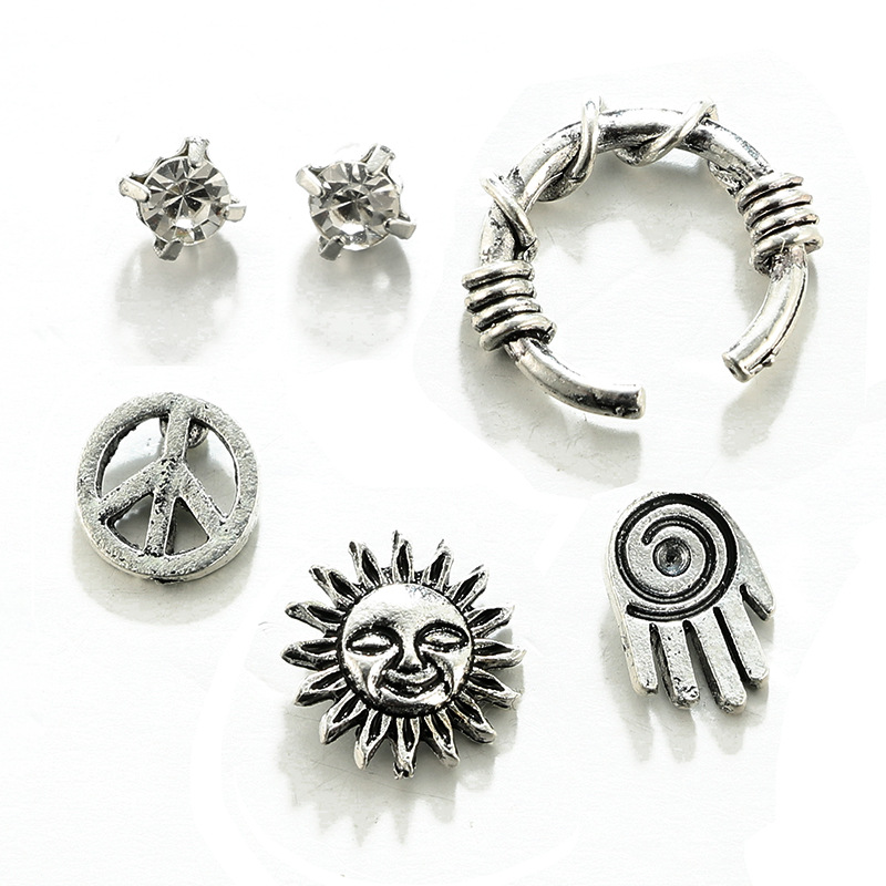 Fashion AlloyStud Earrings(Main color)NHGY1607-Main color