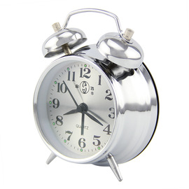 Hefei alarm clock fashion silent scan bell lazy bedside table clock bedroom study 1826