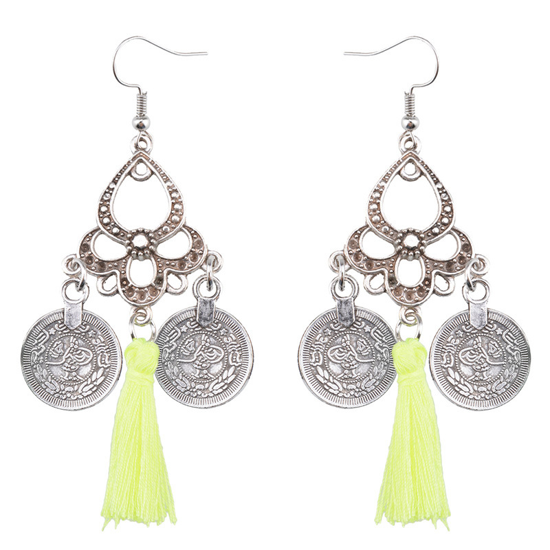 Occident and the United States alloyearring (creamy-white)NHYT0329-creamy-white