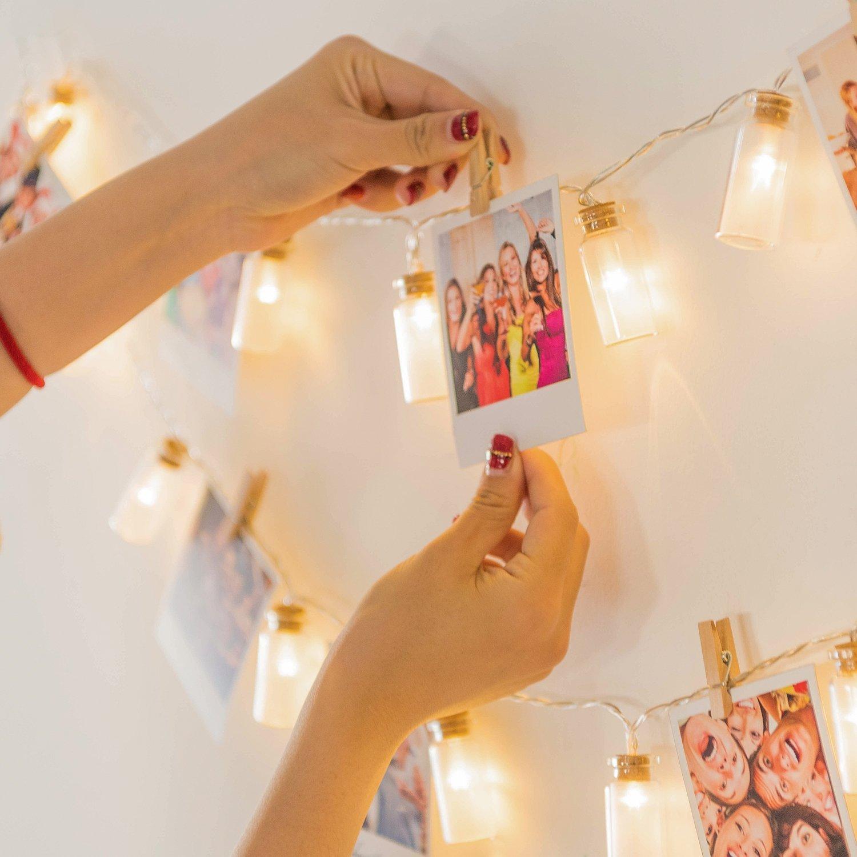 新款灯串 ins女生装饰灯房间装扮用品电池插电USBLED防水装饰挂灯