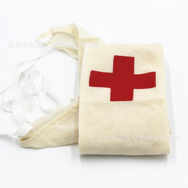 销售纱布三角绷带 红十字醒目标志三角巾 包扎固定辅助急救三角巾