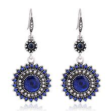 Vintage ancient silver pearl earrings Korean fashion diamond earrings jewelry wholesale NHKQ197112