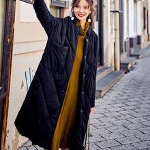 M0250冬季新款女装原创街头潮流宽松棉衣立体双口袋棉服黑外套批